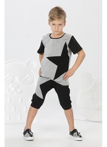 Lupiakids Star Erkek Çocuk Kapri+Tshirt Takım Renkli